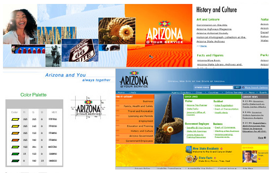 Arizona State Government: Web Design, Style Guide
